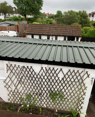 Asbestos Shed renewal