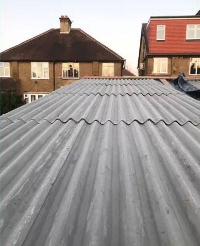 Fibre corrugated cement sheets