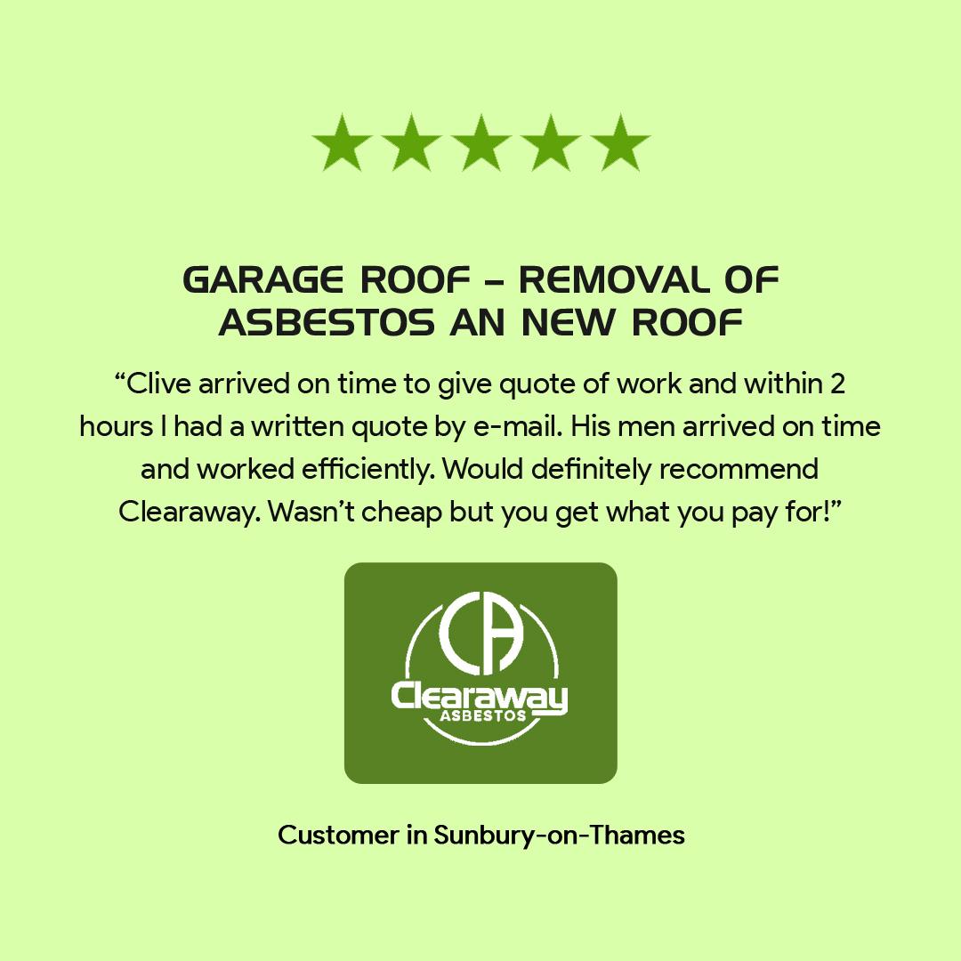 testimonial of Asbestos Services