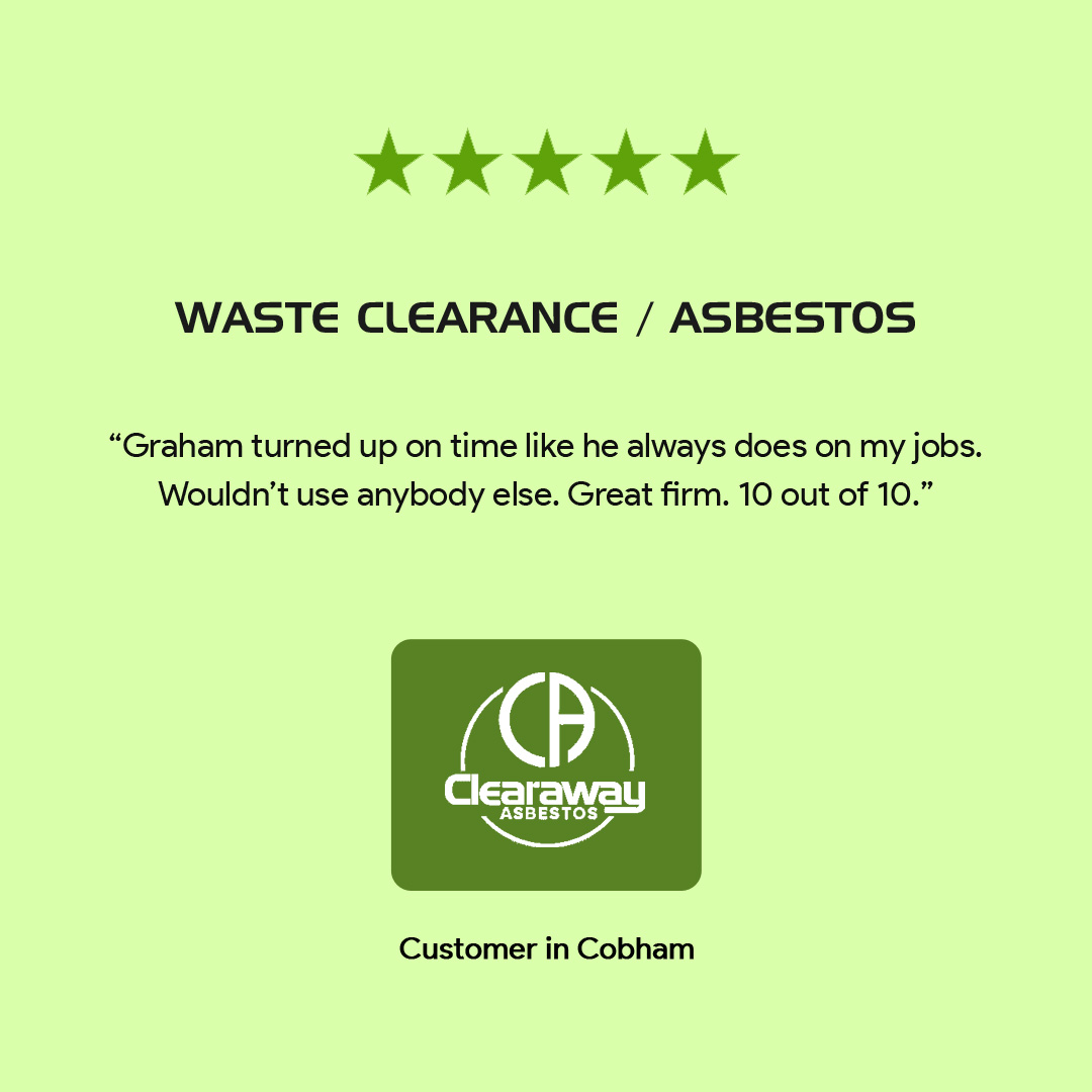 testimonial of Clearaway Asbestos Services